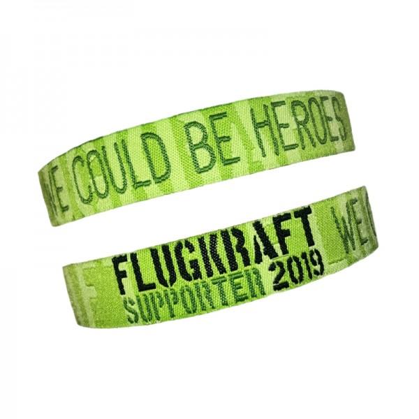 Flugkraft Stoffarmband Supporter 2019