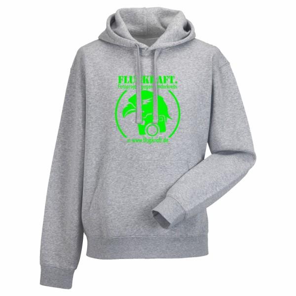 Herren Hoodie - Logo neon